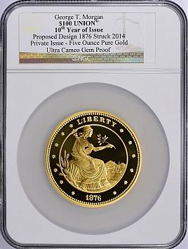 アメリカ1876年(2014年)金貨 5オンス NGC UCAM Gem | PREMIUM GOLD COIN