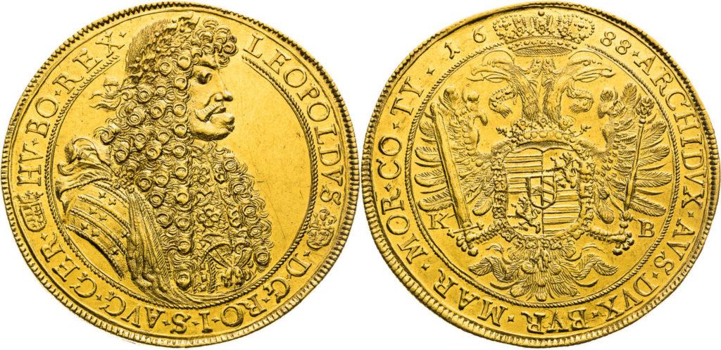 神聖ローマ帝国1688年レオポルト1世10ダカット金貨 | PREMIUM GOLD COIN